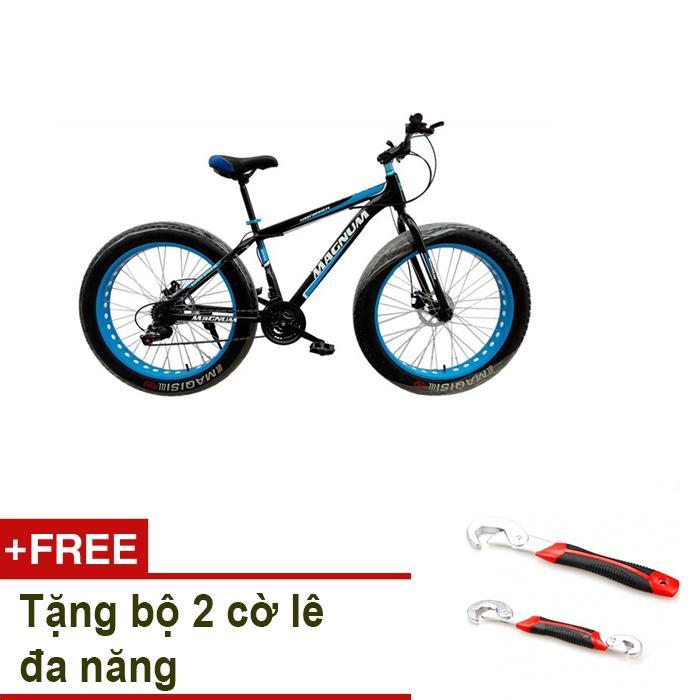 Xe đạp địa hình MAGNUM model FAT08 + Tặng bộ 2 cờ lê đa năng