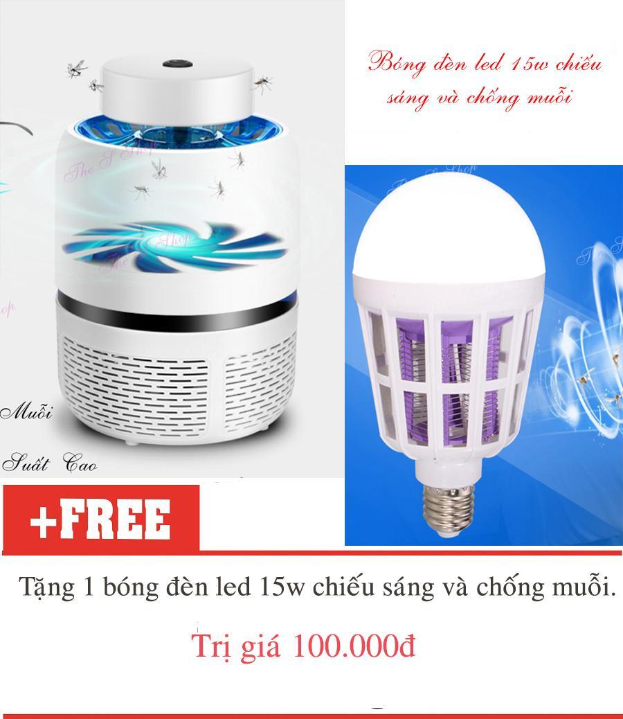 Máy bắt muỗi và diệt côn trùng tia UV Eddrac(Hàng chất lượng cao KHÔNG Giá Rẻ)