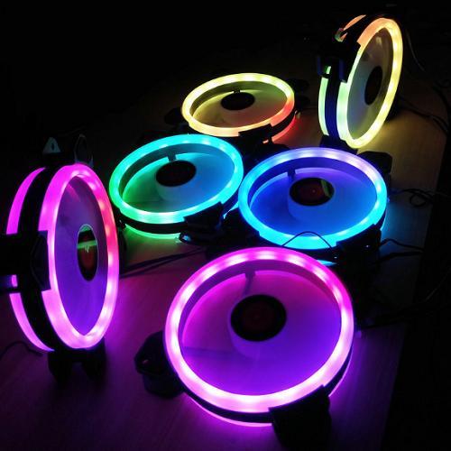 Hình ảnh Fan case COOLMAN SUNSHINE RGB - 2 Vòng Ring