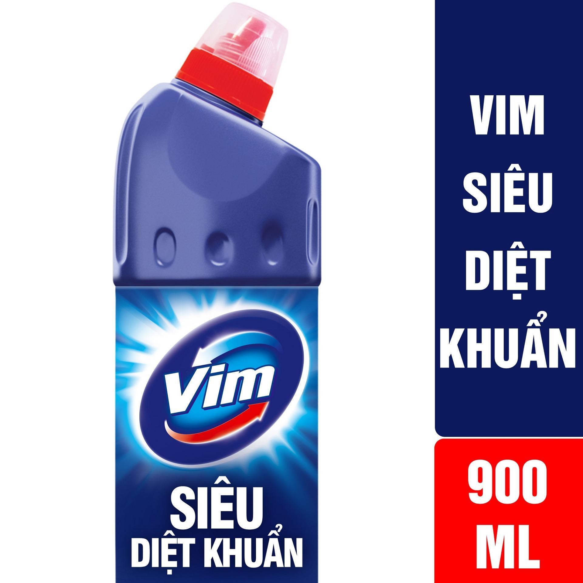 ChẤt TẨy RỬa BỒn CẦu Vim SiÊu DiỆt KhuẨn 900ml By Lazada Retail Unilever.