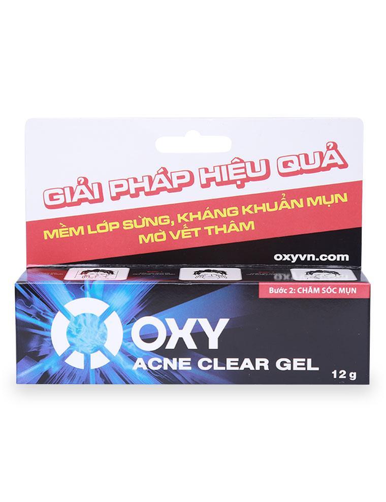 Gel Trong Suốt Oxy Acne Clear Hộp 12G nhập khẩu