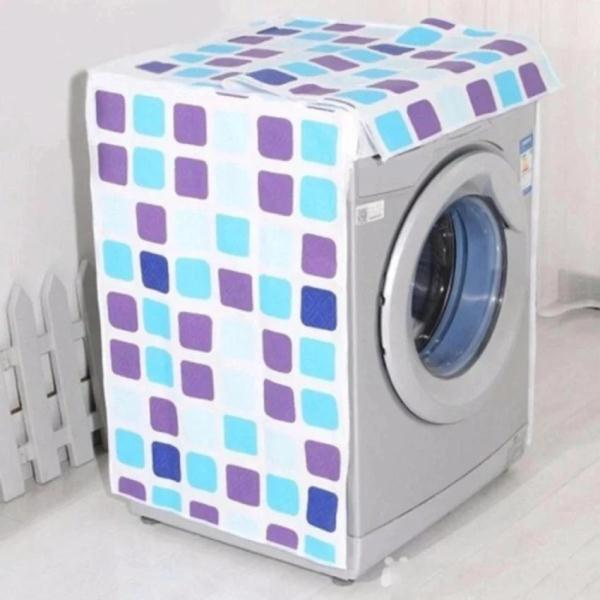 Giá Áo Trùm Máy Giặt Cửa Trước Thanh Long 7-9kg Loại Dày, Cao Cấp