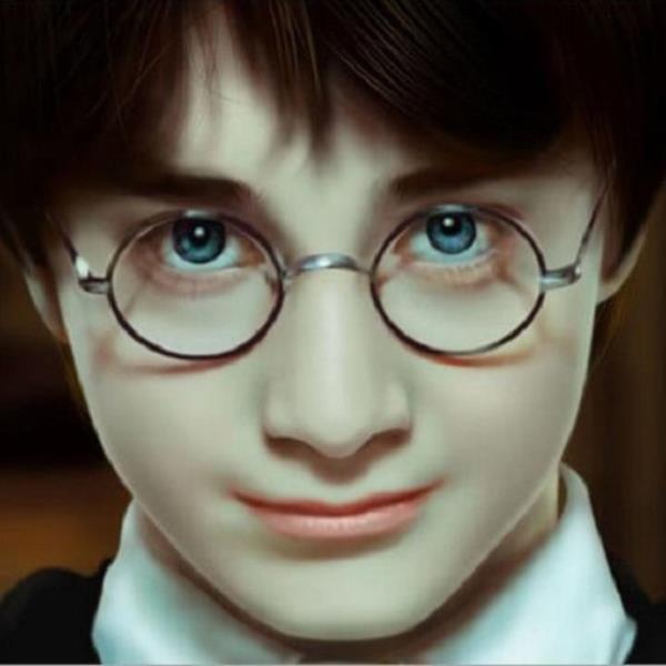Kính Mắt Hóa Trang Harry Potter By Cho Do Cuoi.