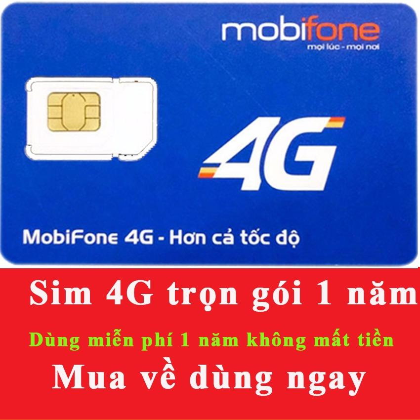 Giá Bán Sieu Sim 4G Mobifone Mdt250A Trọn Goi 1 Năm Khong Cần Nạp Tiền Mua Về Dung Ngay Trong Việt Nam
