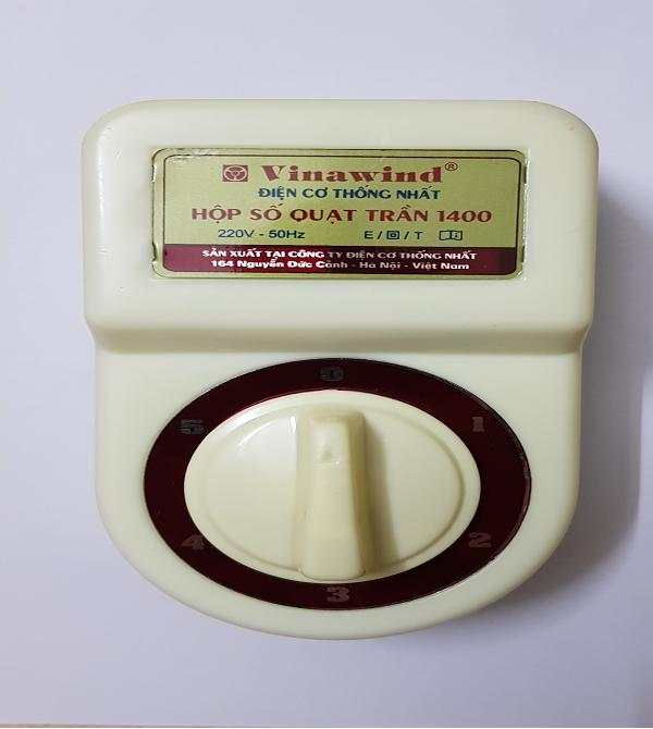 hộp số quạt trần điện cơ 5 cấp độ