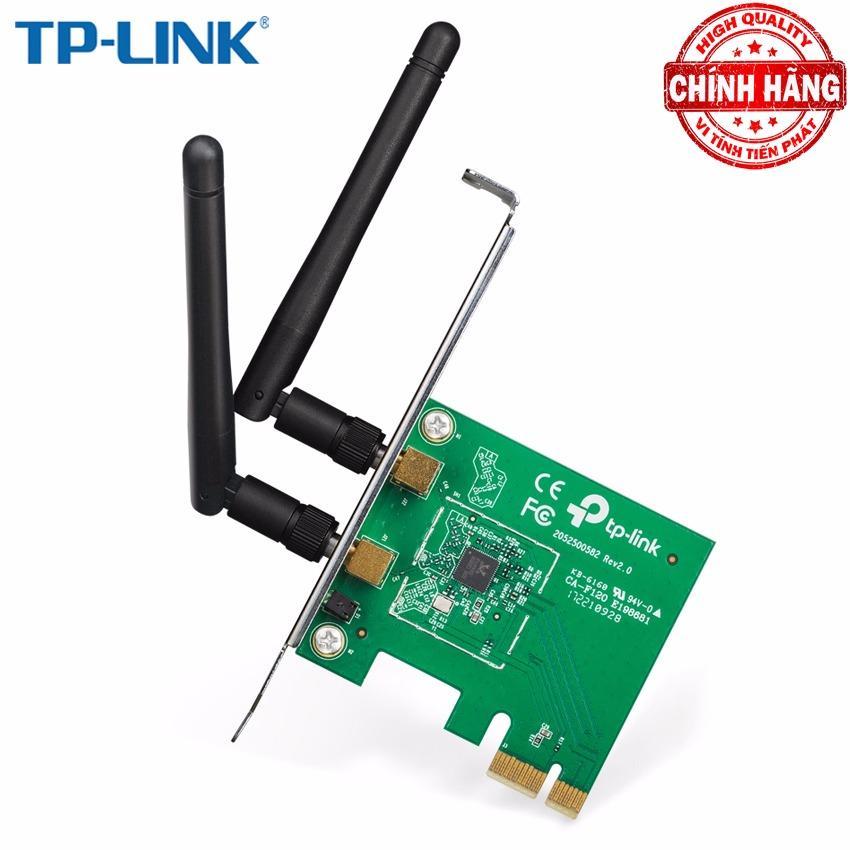 Hình ảnh Card mạng thu WiFi TP-Link TL-WN881ND (Xanh)