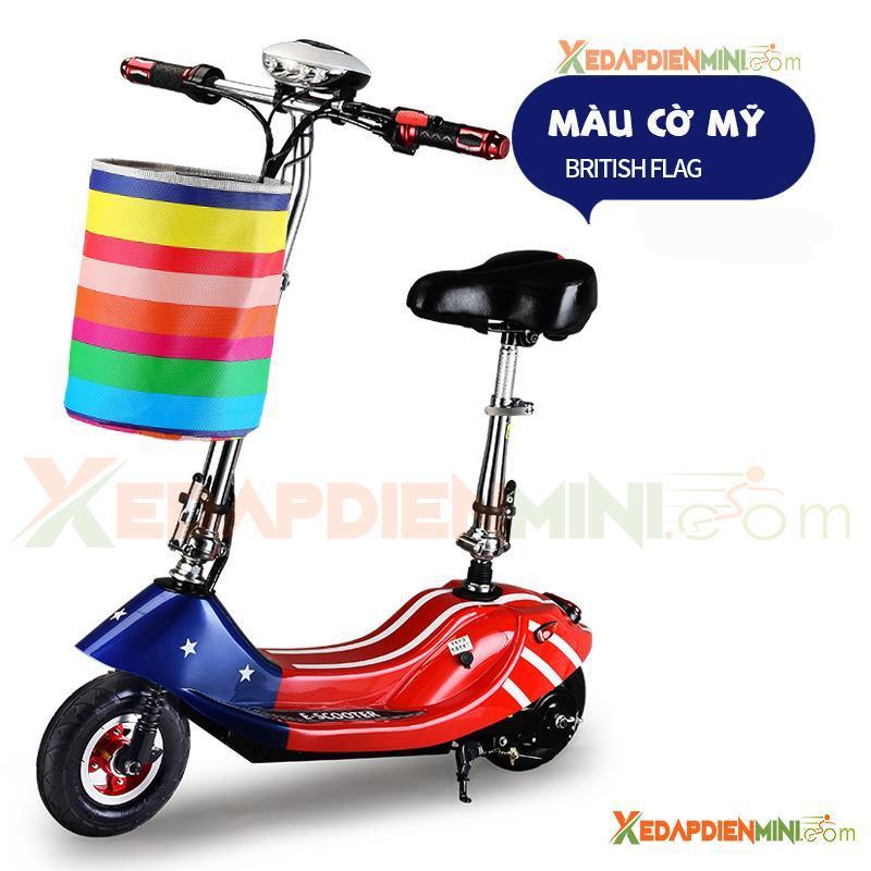 Giá bán Xe đạp điện mini E-Scooter 2018 - Xe điện mini giá rẻ