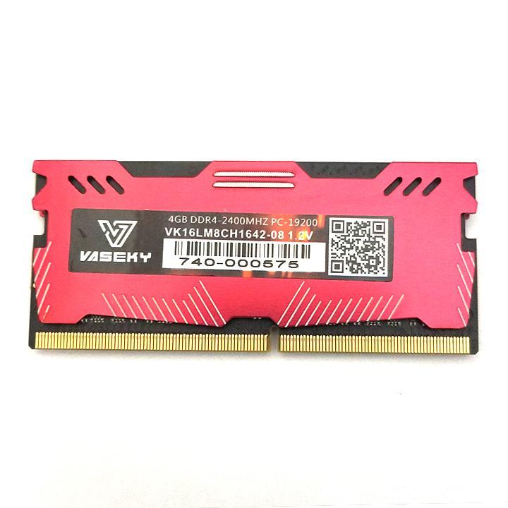 Giá RAM laptop Vaseky DDR4 4GB bus 2400 MHz có tản nhiệt - bảo hành 3 năm