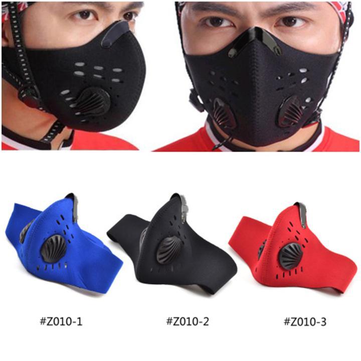 Khẩu Trang Đạp Xe Chống Bụi Cao Cấp PM 2.5 (Kho HCM)
