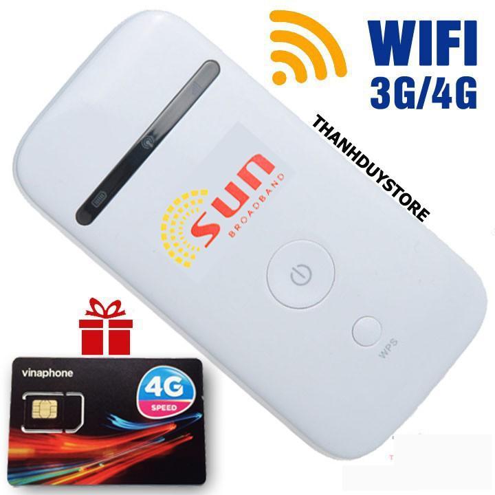 Hình ảnh Bộ phát Wifi 3G 4G SUN chất lượng nhật bản - tặng sim Data khủng - Phát Wifi di động giá rẻ