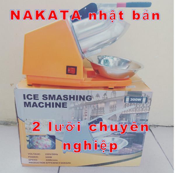 Máy bào đá Nakata 2 lưỡi  may bao da