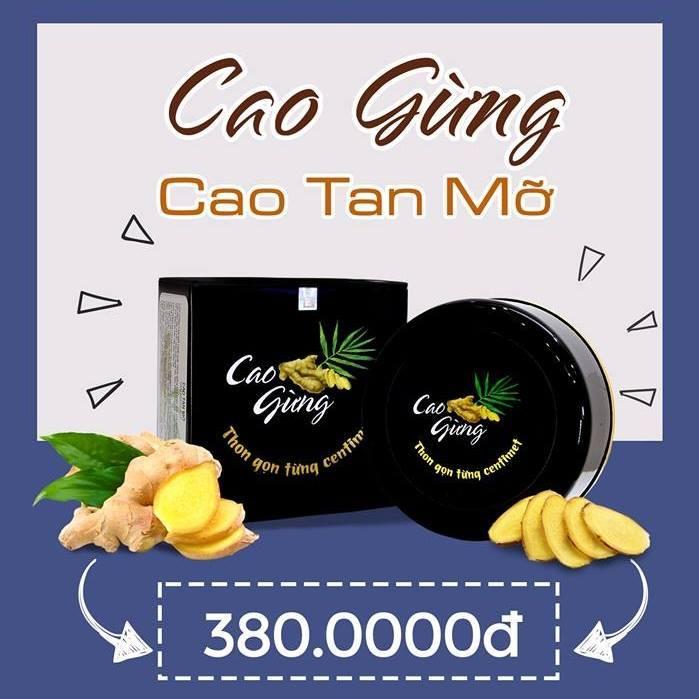 CAO GỪNG TAN MỠ GOLD LINH SÂM - MUA 2 TẶNG ĐAI NỊT BỤNG tốt nhất