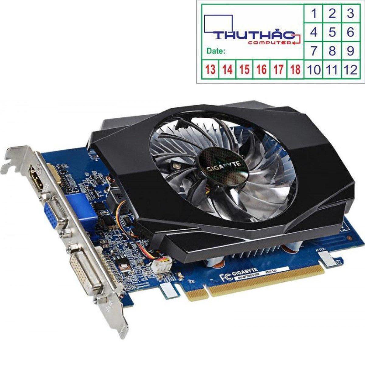 Hình ảnh CARD MÀN HÌNH VGA GIGA GV-N630/2GB/DDR3/128 bit
