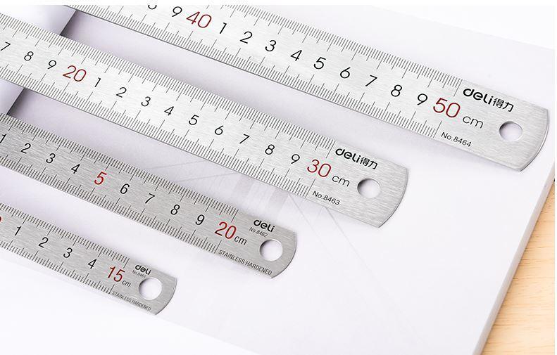 Mua Thước lá Deli 8461 15cm