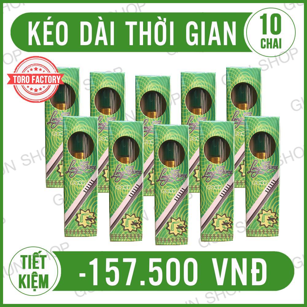 Hình ảnh [ GIÁ SỈ ] Combo 10 Tinh chất chai xịt Longtime Thái - ToroShop
