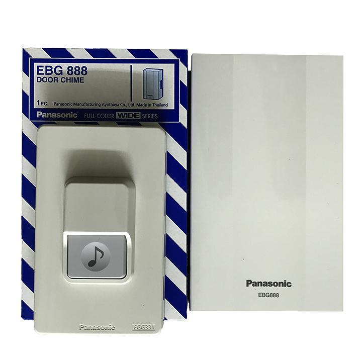 Chuông cửa Panasonic - Chuông điện EBG888 + Nút ấn