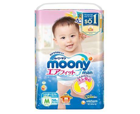 Tã quần Moony M58