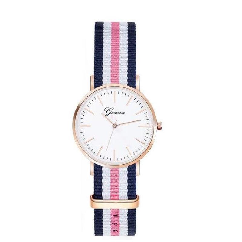 Đồng hồ thời trang nữ dây vải nato Geneva PKHRGE059 (26 mm)