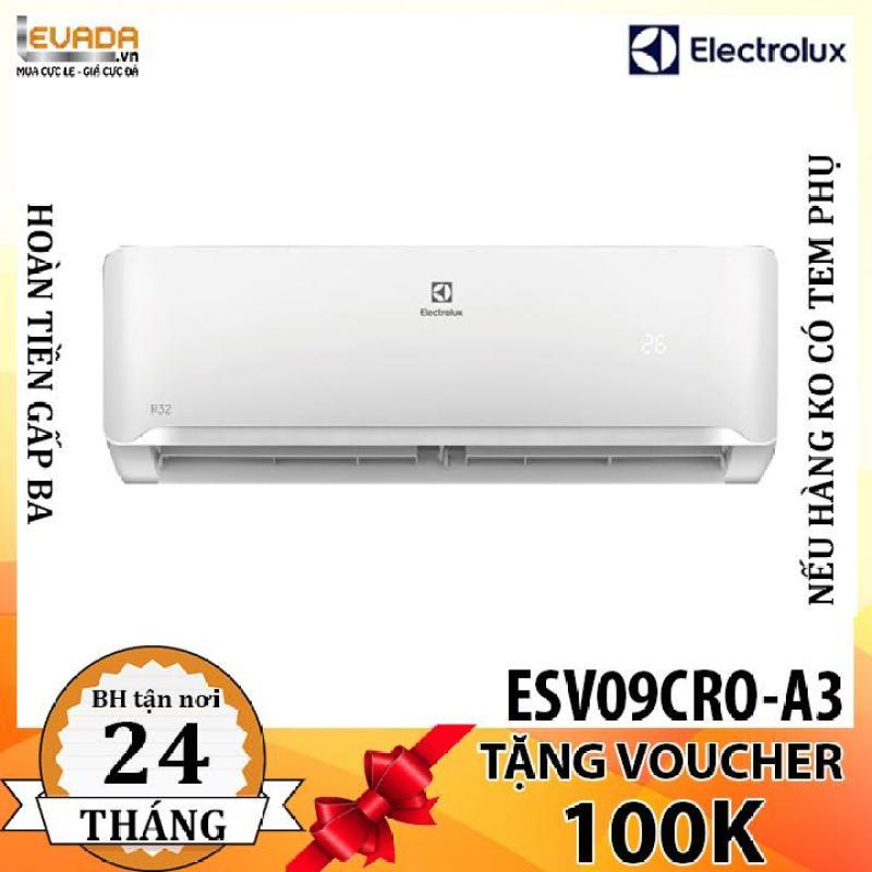Bảng giá (ONLY HCM) Máy Lạnh Electrolux Inverter 1.0 HP ESV09CRO-A3