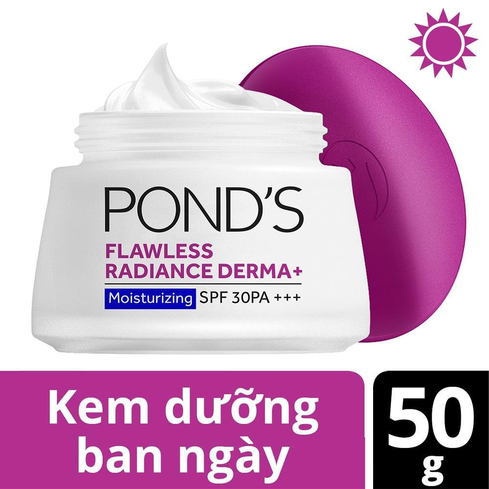 Kem dưỡng trắng da ban ngày Ponds Flawless Radiance Derma+ 50g