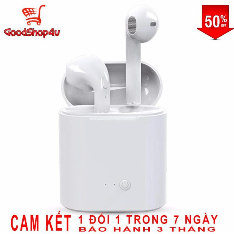 [Xả kho] Tai Nghe Bluetooth i7S TWS, Tai nghe Bluetooth không dây i7S TWS, Tai nghe không dây, tai nghe giá rẻ, tai nghe bluetooth không dây, tai nghe bluetooth cho Iphone, oppo, xiaomi, samsung... [GoodShop4u]