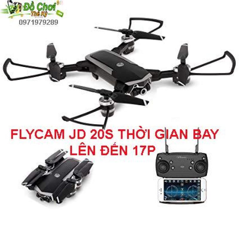 FLYCAM JD-20S JD20S bản nâng cấp JD-20 JD20 ( BAY 17 PHÚT ) , Camera HD 2MP, Truyền Trực Tiếp Qua Điện Thoại