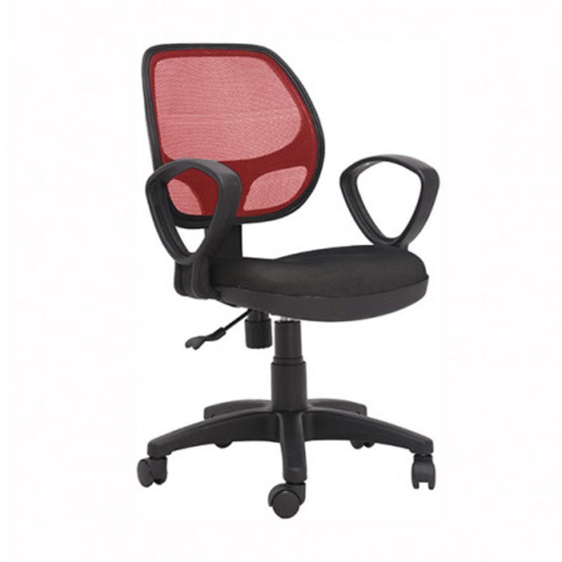 Ghế lưới IB501 có tay màu đỏ giá rẻ