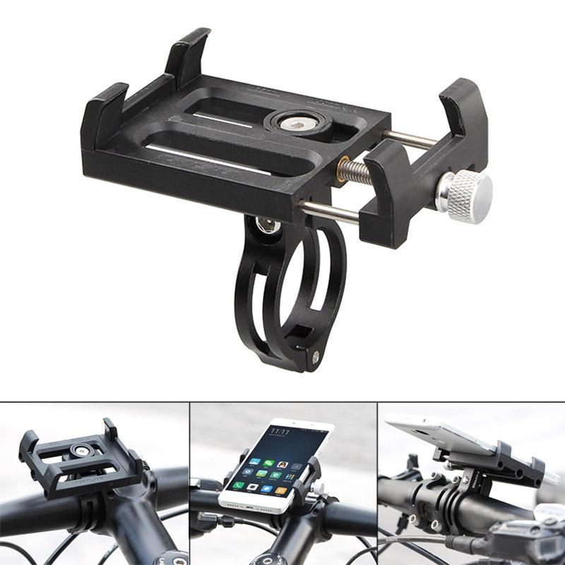 PAlight Bicycle Handlebar Bracket Holder Mount Plastic Aluminum Alloy For Mobile Phone Motorcycle