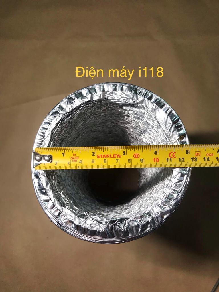 Hình ảnh Ống gió bạc mềm D125mm