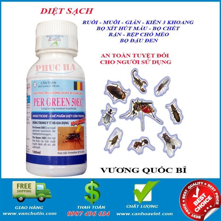 Ôn Tập Thuốc Diệt Gian Per Green 50Ec 100Ml New4All Trong Việt Nam
