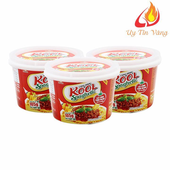 Mì Khoai Tây Cung Đình Kool Sốt Spghetti Thịt Bò Bằm 105gram