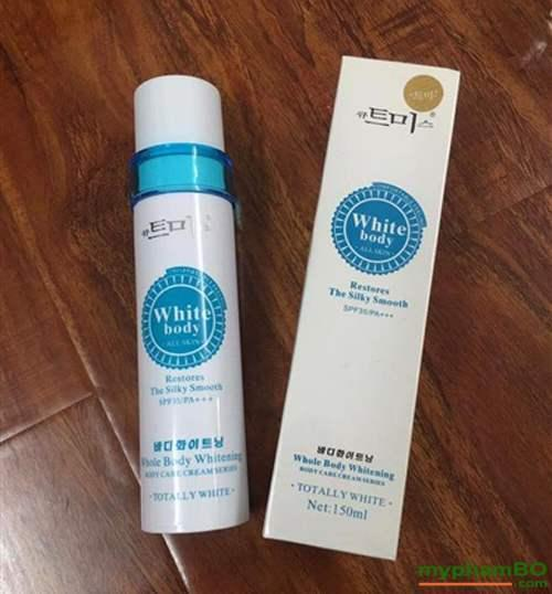 Kem Kích Trắng Da White Body SPF50/PA+++ 150ml - Hàn Quốc