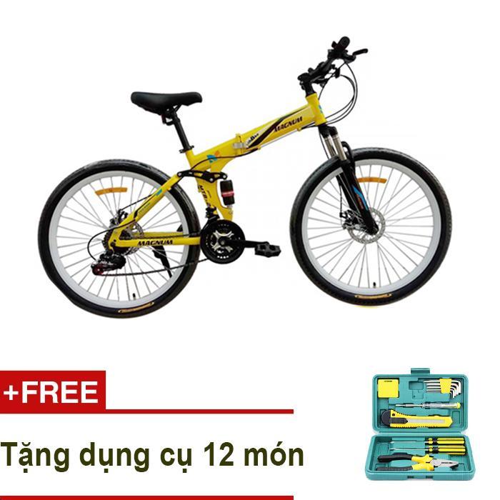 Xe  đạp thể thao MAGNUM MTB-022 + Tặng bộ dụng cụ 12 món