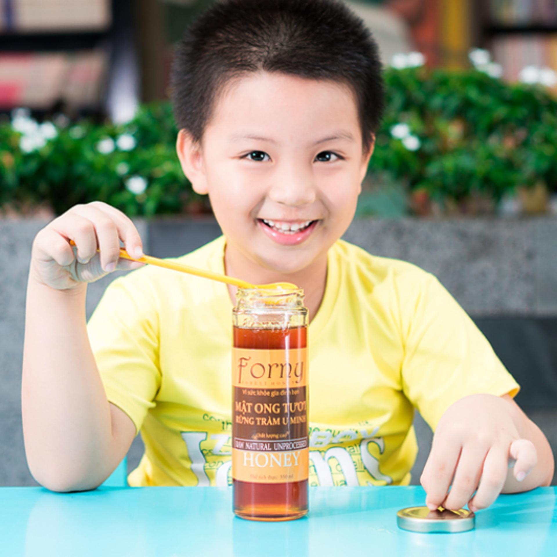 Mật ong rừng tràm U Minh Forny 350ml nhập khẩu