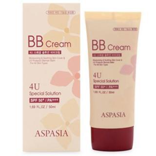 Kem nền chống nắng Aspasia 4U Special B.B Solution Cream Spf50 Pa+++ Hàn Quốc 50ml thumbnail