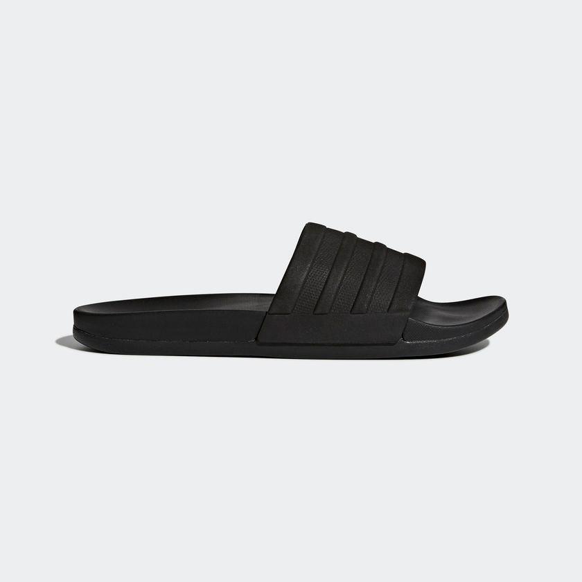Dep Adidas Plus Mono Slides Đen Xam Mới Nhất