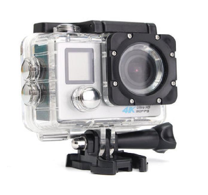 Hình ảnh Camera hành trình cho xe máy chống nước WIFI 4K ULTRA HD tặng kèm remote có màn hình trước LCD