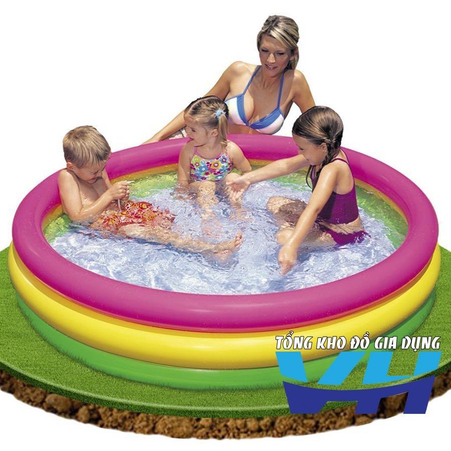 Bể bơi cho trẻ em Intex 57422 Kt 147x33 cm