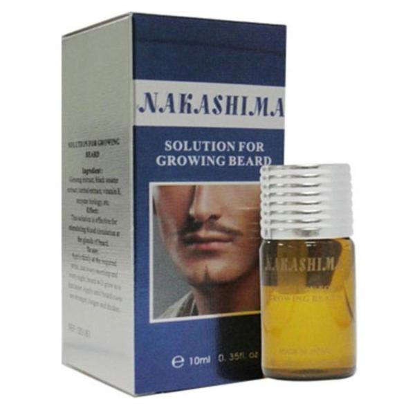 Serum Kích Thích Mọc Râu Nakashima Solution Growing Beard 10ml giá rẻ