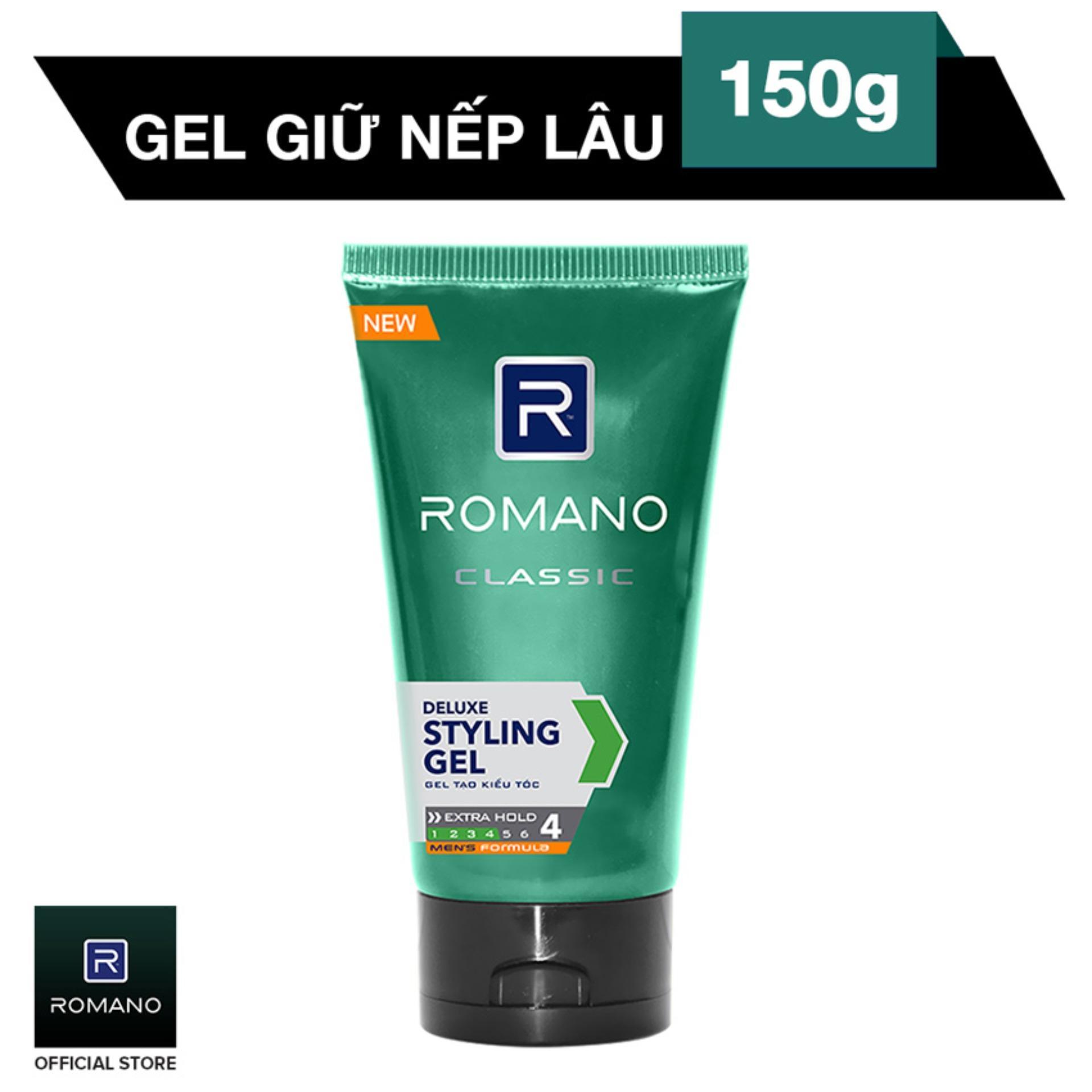 Gel vuốt tóc Romano Classic 150g nhập khẩu