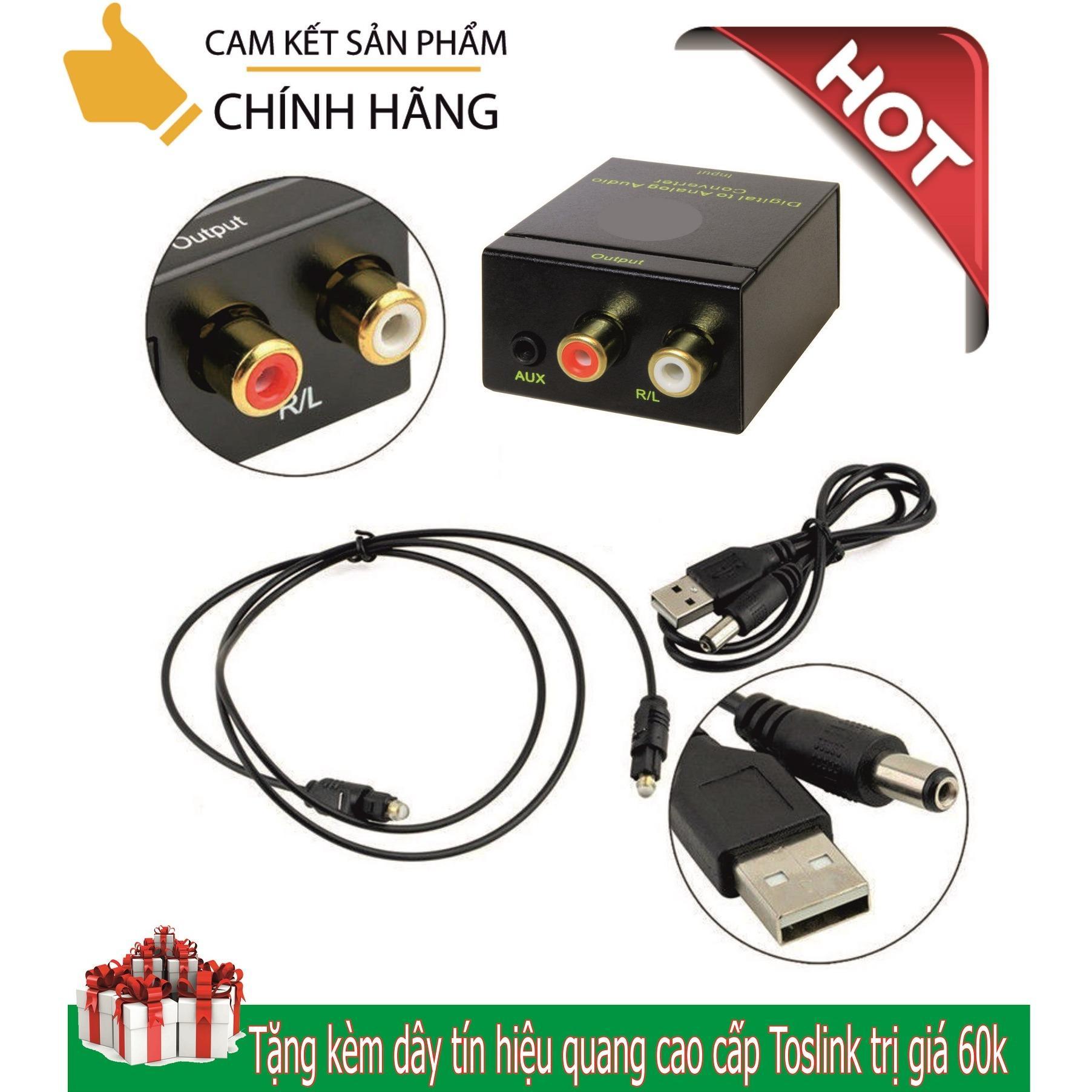 Hình ảnh Thiết bị chuyển đổi âm thanh tivi 4K (Quang học) ra Amply có cổng audio 3.5 dùng nguồn USB âm thanh cực to, tặng kèm dây quang toslink