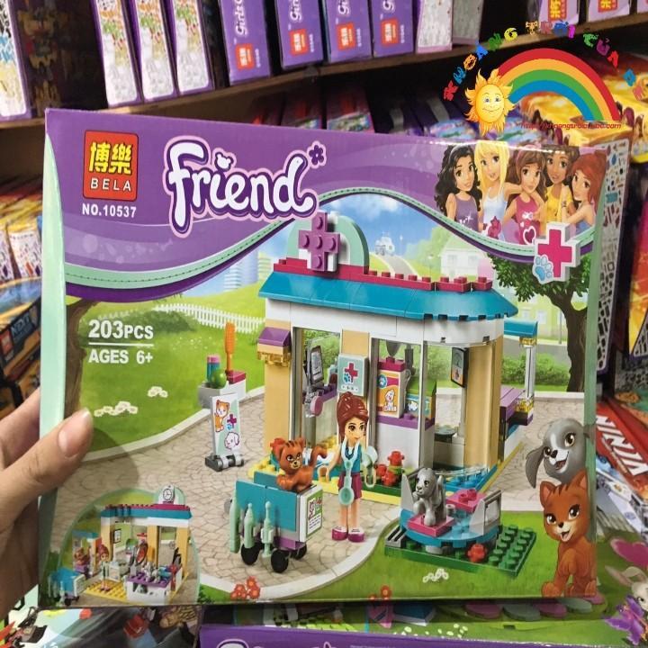 Lego friends 10537- Trạm y tế thú cưng của Mia
