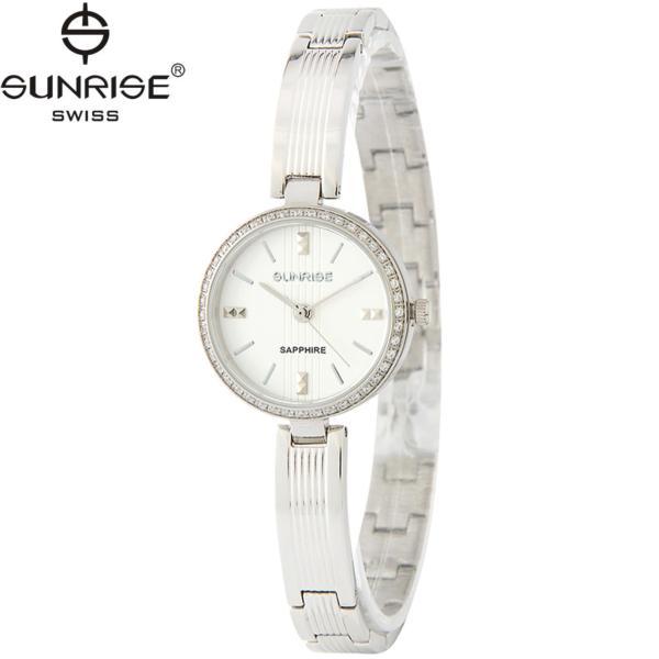 Đồng hồ nữ dây kim loại mặt kính sapphire chống xước Sunrise SL903DLS