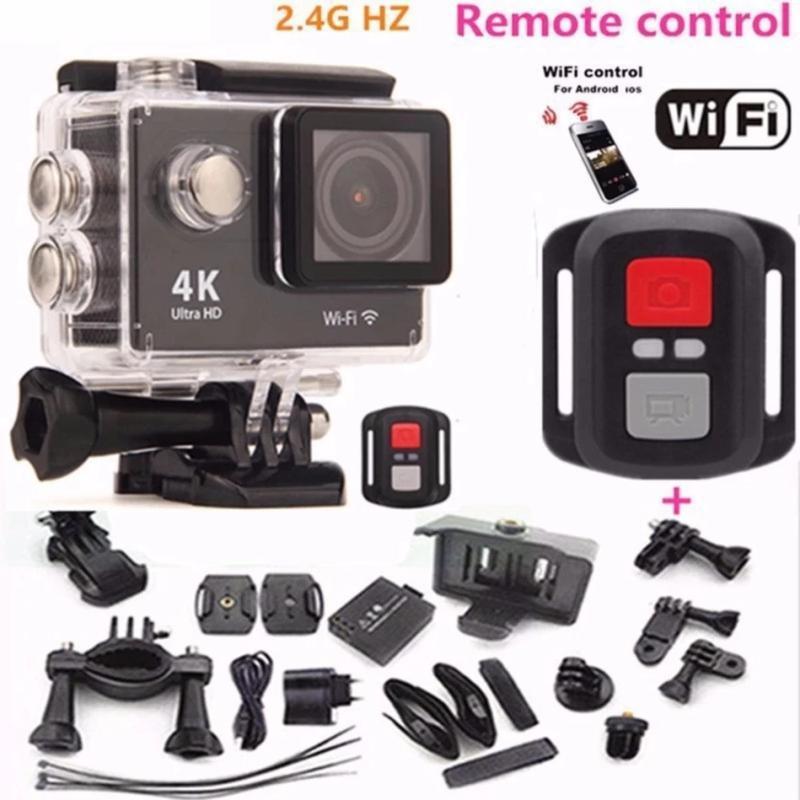 Camera hành trình chống nước 4K CUltra HD - Wifi tặng kèm nút điều khiển từ xa