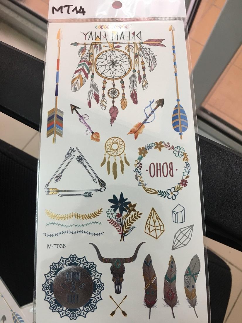 Xăm ánh kim (Flash tattoo)