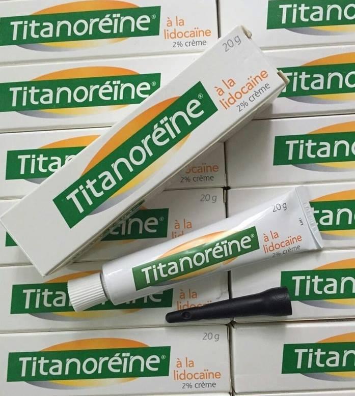 Kem Bôi Đặc Trị Trĩ Ngoại Titanoreine