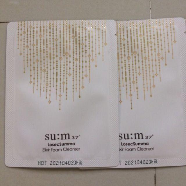 10 Gói Sữa Rửa Mặt Làm Sạch, Bổ Sung Ẩm Và Chống Lão Hóa Su:M37 Losec Summa Elixir Foam tốt nhất