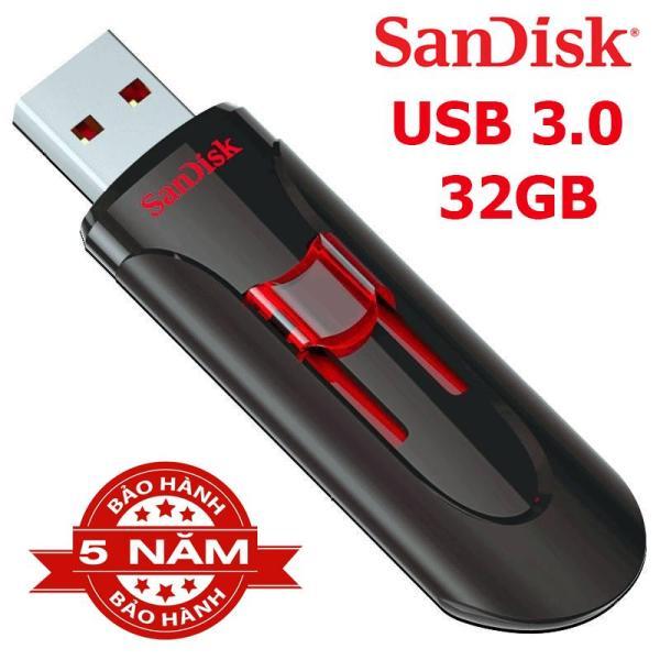 Bảng giá USB 32GB 3.0 Sandisk Cruzer Glide CZ600 bảo hành 5 năm - vpmax Phong Vũ