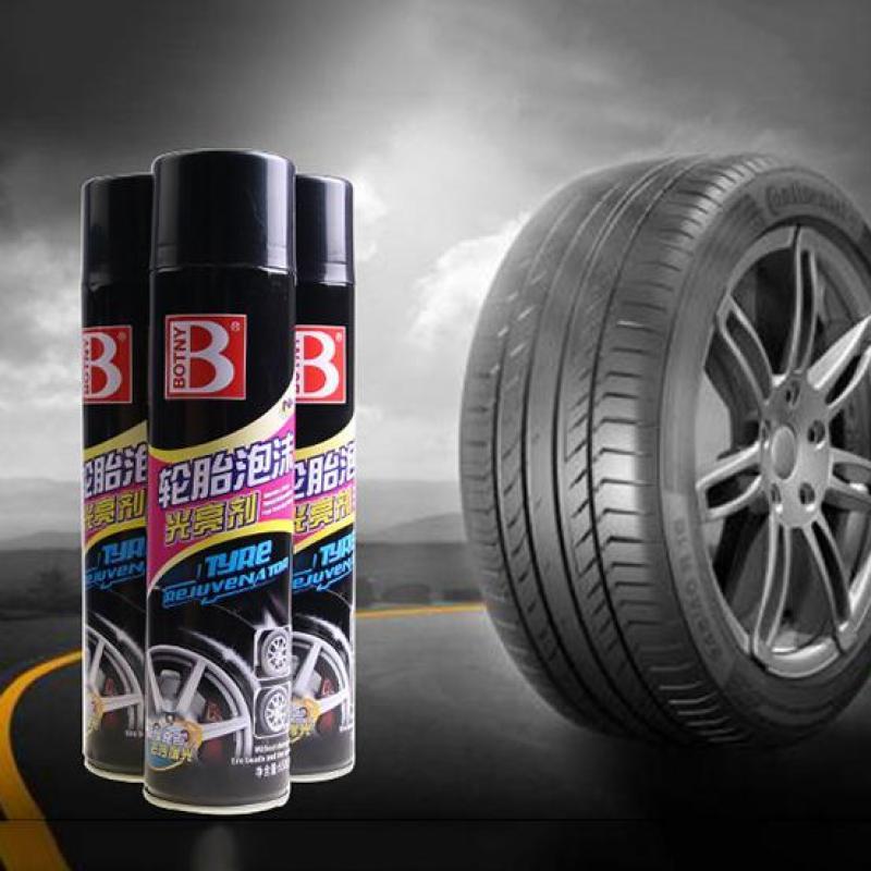 Bình xịt BOTNY bảo vệ và làm mới lốp xe - 650ml