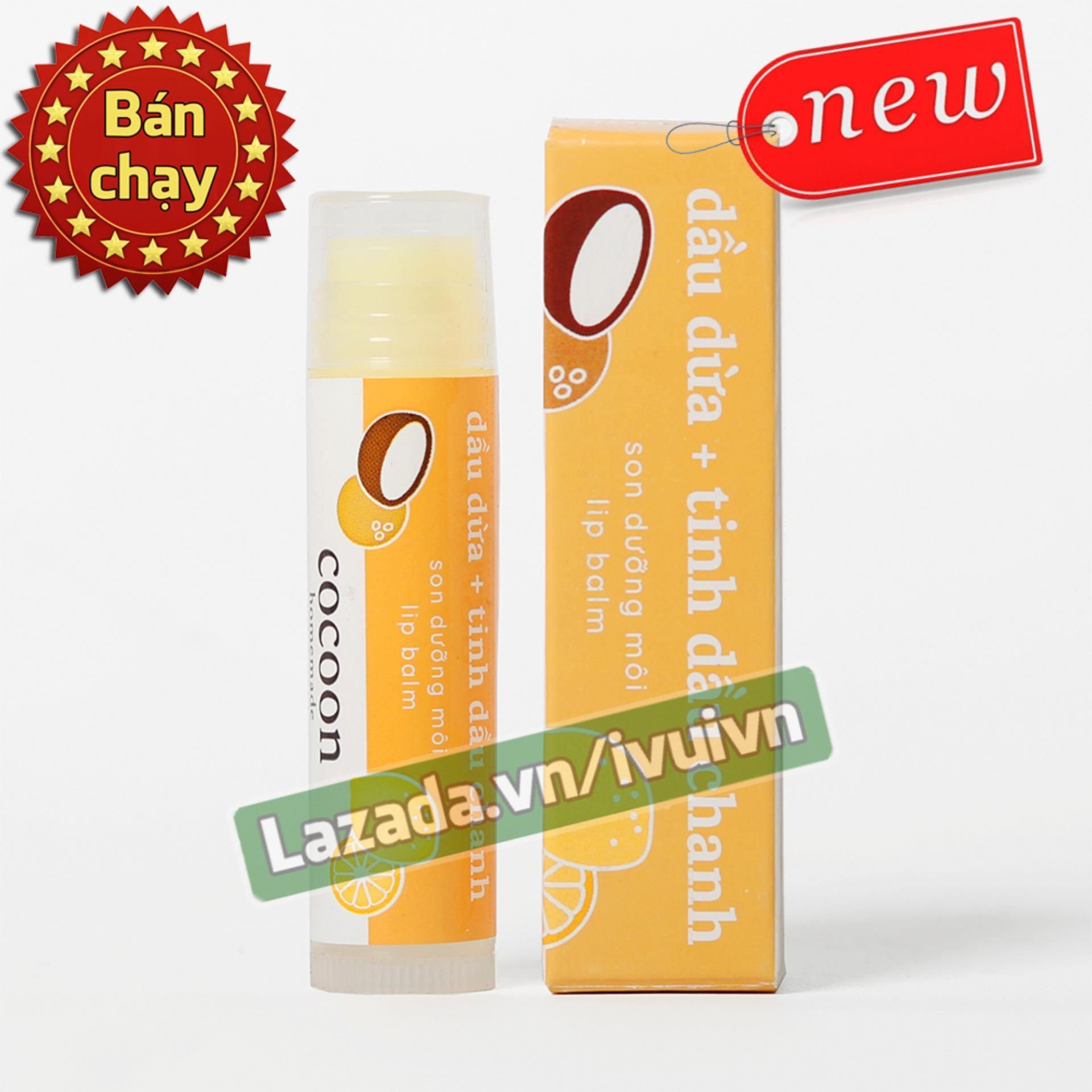 Hình ảnh Son dưỡng môi Lip Care Cocoon 100% thiên nhiên